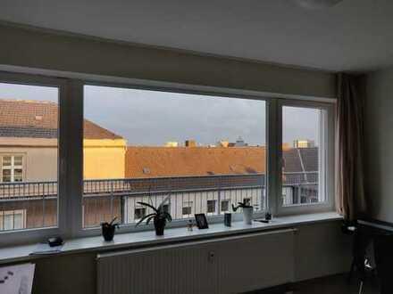 Zentrales möbeliertes Einzelapartment im Studentenwohnheim