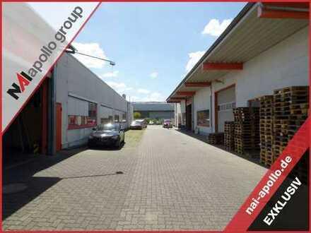 ZU VERKAUFEN | vielseitige Gewerbeliegenschaft | 2.500 m² Halle | 550 m² Büro | ab sofort