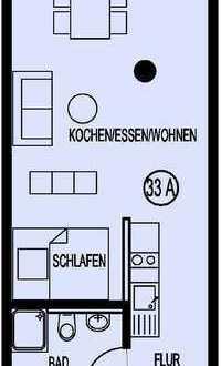 Moderne 1,5-Zimmer-Singlewohnung in Singen