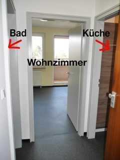 Praktische 1-Zimmer-Wohnung mit Balkon und Einbauküche in Nürnberg