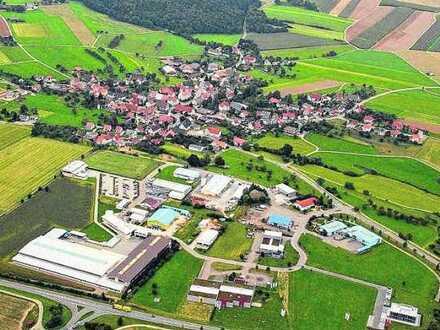 Tiefgaragenplätze für Oldtimer/Autos im neuen Meßkircher Gewerbepark nördlicher Bodensee