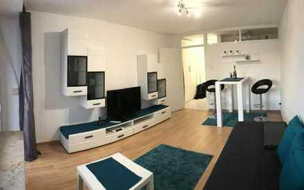20 min in die City / 1-Zimmer Apartment, Vollausgestattet und frisch renoviert