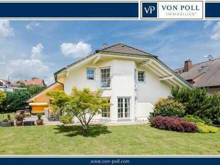 Familientraum im modernen Landhausstil in Bestlage von Wehrheim