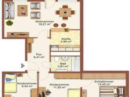Erstbezug nach Sanierung: Attraktive 4-Zimmer-Wohnung mit Balkon in Erkner