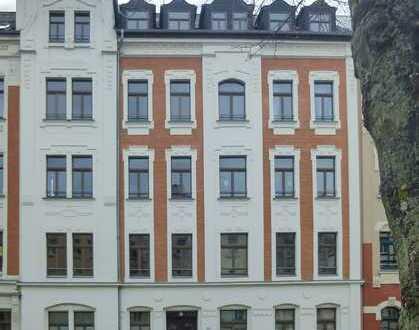 Helle Dachgeschosswohnung auf dem Kaßberg