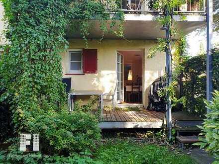 All inclusive. Wunderschöne Gartenwohnung, chic möbliert und voll ausgestattet