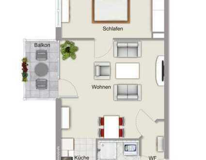 2 Zimmer Wohnung - möbliert oder unmöbliert - zentral zu vermieten