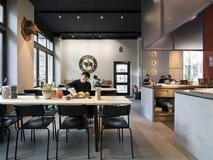 Ruff´s Burger: Premium Burger Restaurant in Toplage mit Außengastronomie in der Altstadt