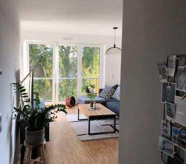 Stilvolle 3-Zimmer-Wohnung mit 2 Balkonen und Einbauküche in Stuttgart