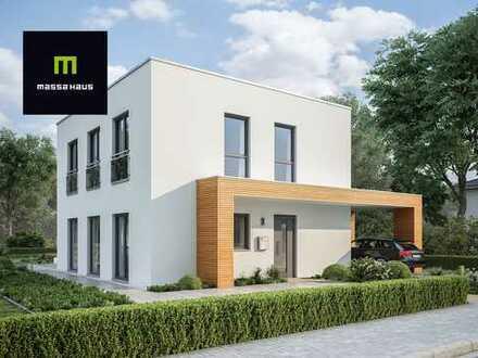Villa im Bauhaus - Stil von massahaus - KFW 55 - Fußbodenheizung uvm.