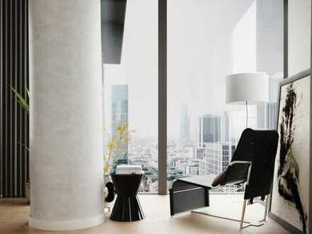 Für Kosmopoliten: Perfekte 2-Zimmer-Wohnung mit herrlichem Skylineblick in direkter Citylage