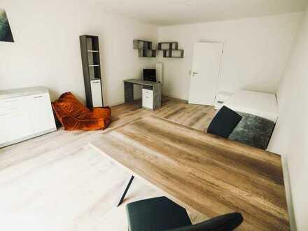 Geräumiges 1-Zimmer-Apartment, voll möbliert, zur Miete in Ilmenau