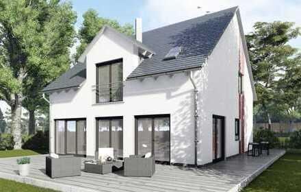Traumgrundstück im Grünen! Unser Noblesse Einfamilienhaus der Luxusklasse inkl. Keller in Kirchheim!