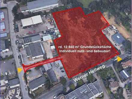 """13.000 m² Entwicklungsgrundstück Bochum """"Werner Hellweg"""" - direkt vom Eigentümer"""