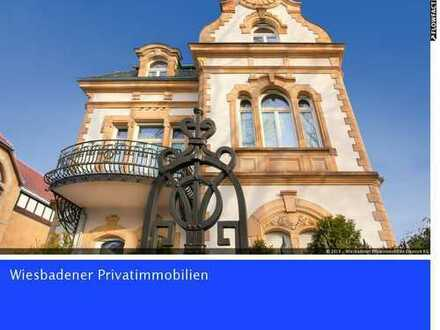 Unique renovated villa in top location with unobstructed views of the Neroberg from Wiesbaden