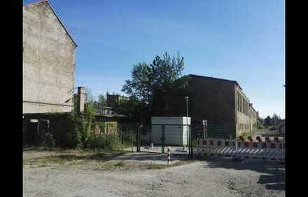 Baugrundstück für Wohnungsbau 4.700m2 noch bebaut mit ehemaligen Produktionshallen