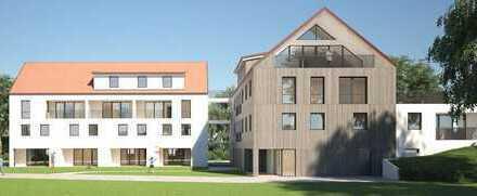 4 Zi-ETW mit eigenem Eingang im Reihenhausstil EG u. OG mit Garten, Baubeg. 1. Q 2020, Haus A Wo 0.2