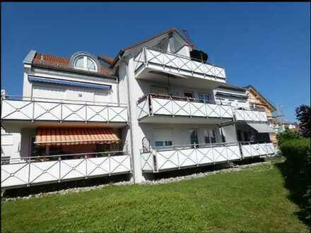 Wunderschöne, neuwertige, helle 2-Zimmer-Wohnung mit Balkon in Bad Waldsee-Steinach
