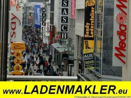LADEN mit 10 m bodentiefer Front in LAUFLAGE in der SCHLOSS-Straße in BENSBERG - mit PARKPLÄTZEN!