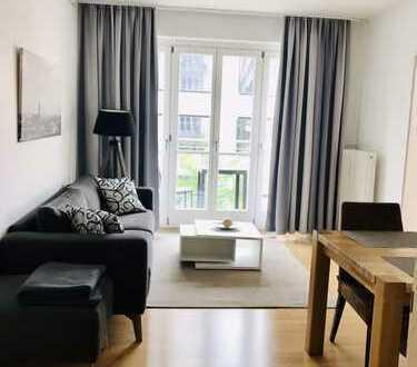 Stilvoll - Komplett möblierte 3 Zimmer Wohnung mitten in München!