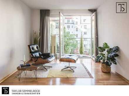 2-Zimmer-Wohnung mit Balkon, Aufzug und Tiefgarage in Top-Lage Berlin-Mitte