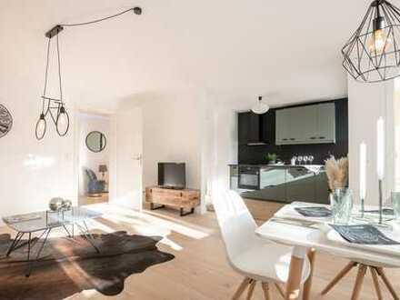 Erstbezug nach Kern-Sanierung: Großzügige 3-Zimmer-Wohnung mit Südbalkon in ruhiger Lage Solln