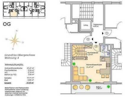 Hochzoll Neubau 2 ZKB Wohnung in TOP Lage incl. Küche