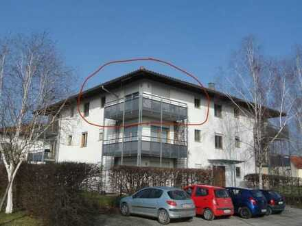Modernisierte 2-Raum-Wohnung mit Balkon in Jettingen-Scheppach