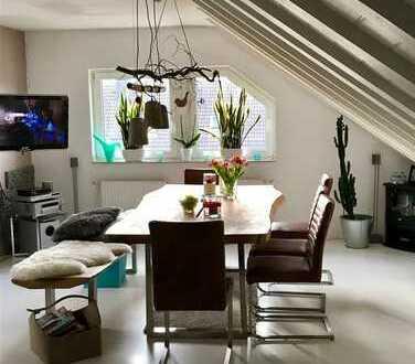 Stylische Maisonette Wohnung über den Dächern von Moers