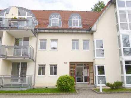 Freie, schöne und helle 2-Raum ETW, 1.OG mit Balkon und Stellplatz in Oederan