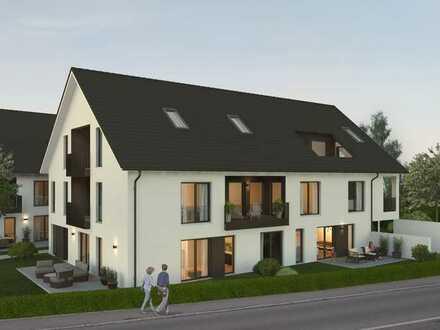 NEUBAU WHG 17 | 3-Zimmer-Wohnung mit Terrasse und Gartenanteil