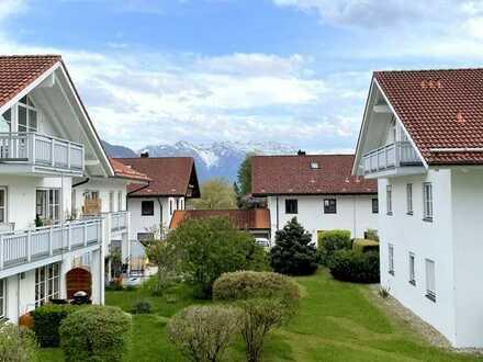 Murnau - bezauberndes Apartment mit Südbalkon und Bergblick