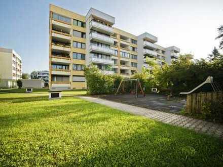 MGF-Group: Gut geschnittene 3 Zimmerwohnung mit Alpenblick in Unterhaching.