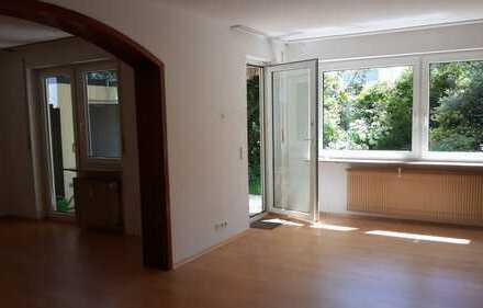 Schöne, geräumige vier Zimmer Garten-Wohnung in Pforzheim Südweststadt