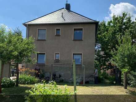 Freistehendes Einfamilienhaus in Sackgasse mit Weitblick in Chemnitz-Wittgensdorf