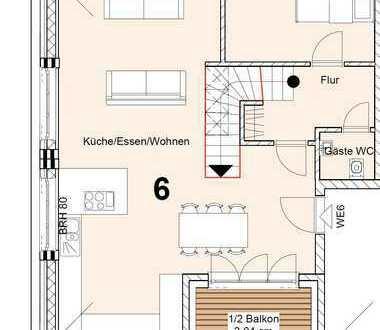 Neuwertige 2,5-Zimmer-Maisonette-Wohnung mit Balkon und EBK in Blankenese, Hamburg