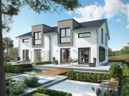 Baulücke in bevorzugter Wohnlage mit einem top modernen Bien-Zenker Haus