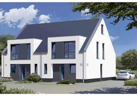 Platz für die ganze Familie! 154 m² / 5 Zi. / Doppehaushälfte / KfW-Standard 55