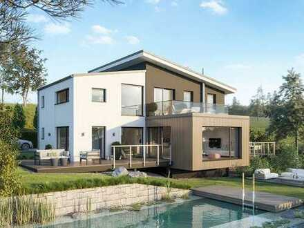 Außergewöhnliche Architektur kombiniert mit höchstem Wohnkomfort