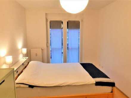 PROVISIONSFREI! Zentral gelegene 2-Zimmer-Wohnung mit Balkon und Carport