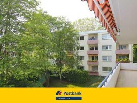 Eschborn:**7 Minuten fussläufig zur Innenstadt**Helle 3-Zimmer-WE mit Aufzug**EBK**PKW-Stellplätzen