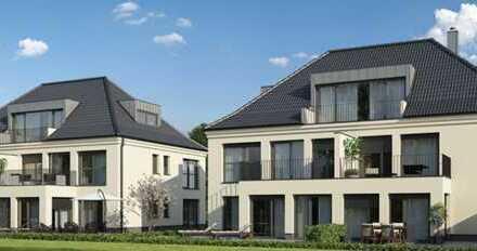 E & Co. - Neubau/Erstbezug 3 Zimmer Erdgeschoss Wohnung mit ca. 38qm Gartenanteil (SNR).