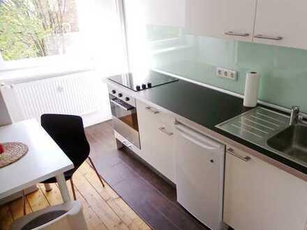 Modern möblierte 1-Zimmer Wohnung mit Vollbad und Einbauküche/WLAN/ ab sofort / 01.08.2020 frei