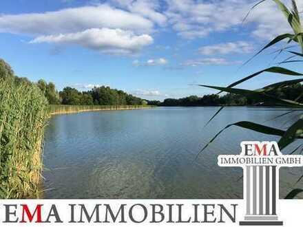 Baugrundstück direkt am schönen Falkenhagener See