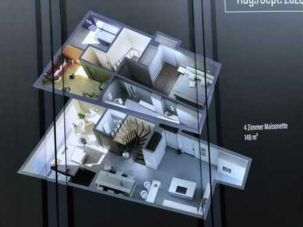 Attraktive 4-Zimmer-Maisonette-Wohnung (148qm) in Marktheidenfeld mit 2 Balkonen / Erstbezug