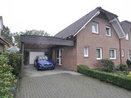 Cloppenburg | Doppelhaushälfte | Wfl.128 qm | 315qm Grundstück | vermietet als Kapitalanlage
