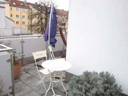 3 Zimmer-Terrassen-Wohnung München- Maxvorstadt nähe TU