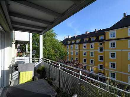 Gemütliche, sonnige 1 Raum Wohnung mit großem Südbalkon!