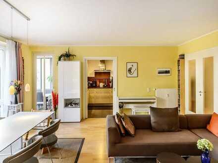Exklusive 5-Zimmer-Gartenwohnung in Bestlage von Haidhausen