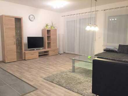 zum 01.06.: Neuwertige 2-Zimmer-Wohnung mit Balkon und EBK
